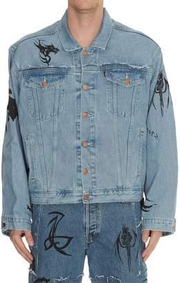 Vetements Tribal Oversize Denim Jacket