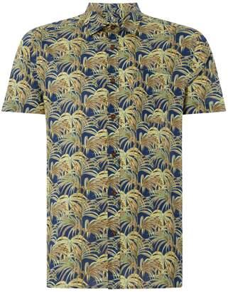 Howick Men's Jungle Print Short Sleeve Shirt