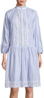 Zimmermann Caravan Pin Cotton Dress