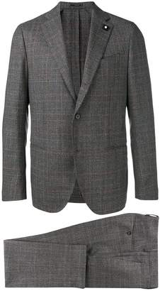 Lardini Glencheck suit