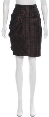 Yigal Azrouel Knee-Length Wool Skirt