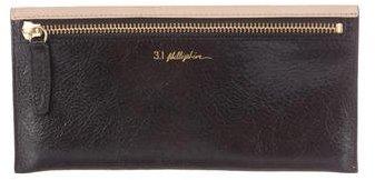 3.1 Phillip Lim3.1 Phillip Lim Pebbled Leather Wallet