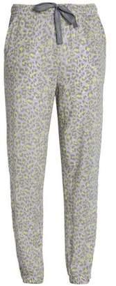 Calvin Klein Leopard-Print Jersey Pajama Pants