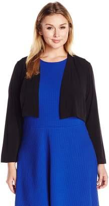 Calvin Klein Women's Plus Size Basic Jersy Shrug