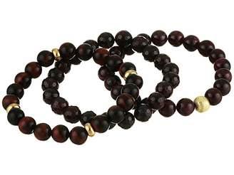 Dee Berkley Journey Garnet Beaded Bracelet Set