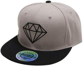 Hunter City Cf918t Diamond Snapback Cap