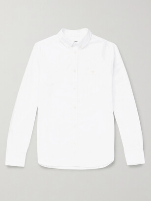 Norse Projects Anton Button-Down Collar Cotton Oxford Shirt - Men - White