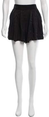 Raquel Allegra Silk High-Rise Shorts w/ Tags