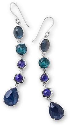 Ippolita Sterling Silver Rock Candy Wonderland Semi-Precious Stone Linear Drop Earrings