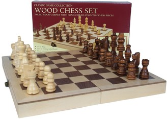 Co Folding Chess Game by John N. Hansen
