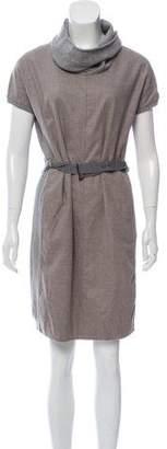 Fabiana Filippi Merino Wool Dress