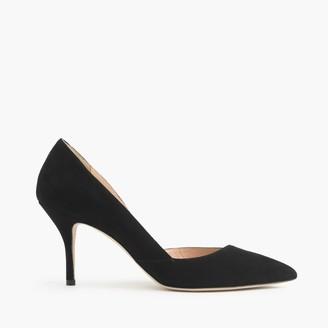 Colette suede d'Orsay pumps $248 thestylecure.com