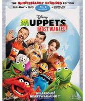 Disney Muppets Most Wanted Blu-ray Combo Pack