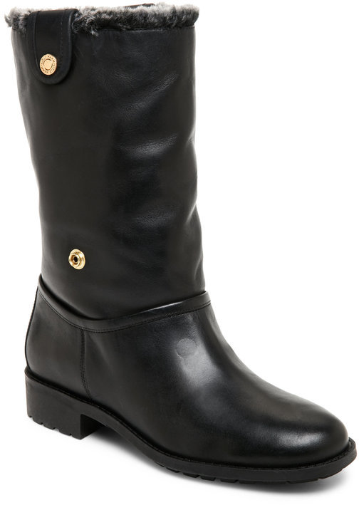 Cole Haan cole haan Black Breene Faux Fur Waterproof Boots