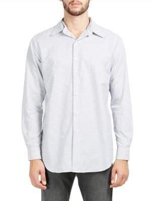 Kent & Curwen Shere Long Sleeve Workwear Shirt