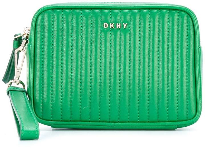 DKNY DKNY quilted clutch