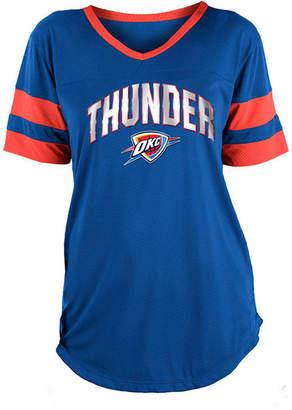 5th & Ocean Women Oklahoma City Thunder Mesh T-Shirt