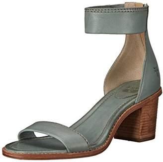 Frye Women's Brielle Back Zip Flat Sandal 8 M US