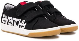 Givenchy Kids touch strap sneakers
