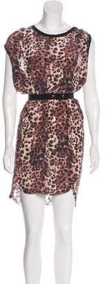 Etoile Isabel Marant Printed Silk Dress