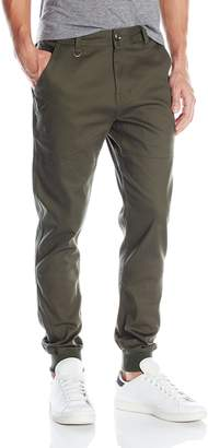 Publish BRAND INC. Men's Legacy Stretch Twill Jogger Pant with Water Resist Coat