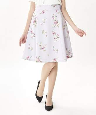 PATTERN fiona (パターンフィオナ) - PATTERN fiona チューリップ柄レースアップベルト付きスカート