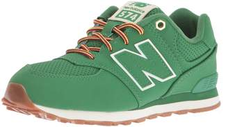 New Balance Youths 574 Heritage Sport Nubuck Trainers 6.5 US