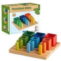 Guidecraft Nest & Stack Cubes