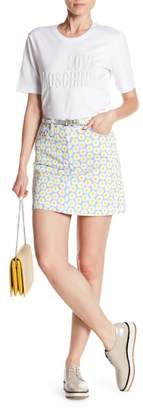 Love Moschino Floral Printed Skirt