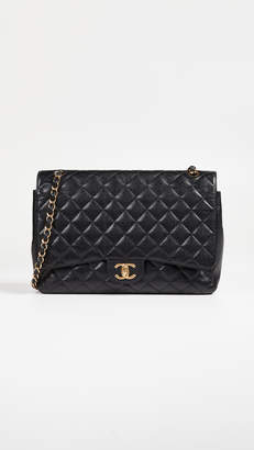 Chanel What Goes Around Comes Around Caviar Classic Maxi Bag