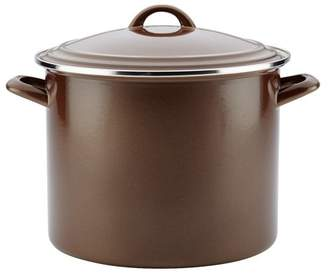 Ayesha Curry Ayesha Curry 12 qt. Enamel on Steel Stock Pot with Lid