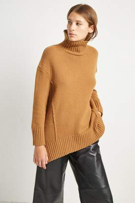 French Connenction Supersoft Wool Cashmere High Neck Jumper