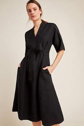 Velvet by Graham & Spencer Winley Linen Midi Dress