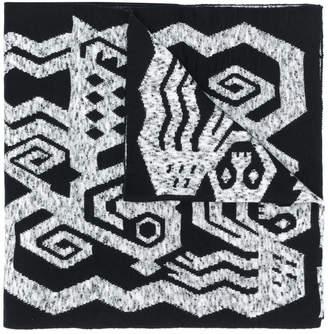 Bernhard Willhelm printed scarf