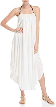 Jordan Taylor Elif For Draped Maxi Cover-Up Dress