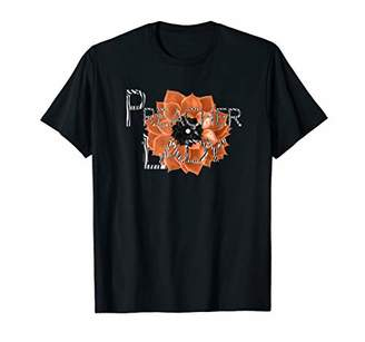 Preacher Lady Peach and Zebra Women's Casual T-Shirt
