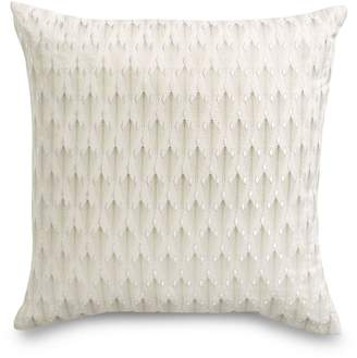 Hotel Collection Plume Square Cotton Cushion