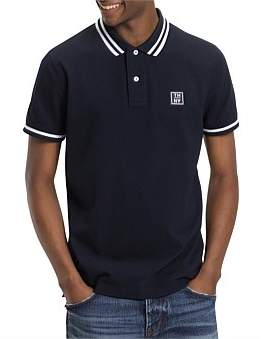 Tommy Hilfiger Wcc Badge Tipped Regular Polo