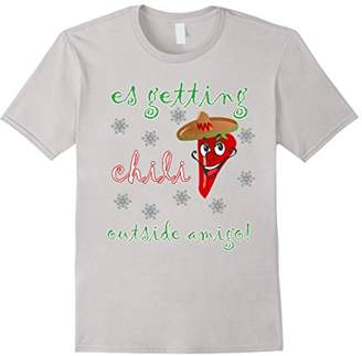 Its getting chili Outside funny christmas pepper shirt