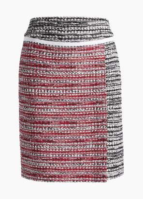 St. John Amelia Knit A-Line Skirt