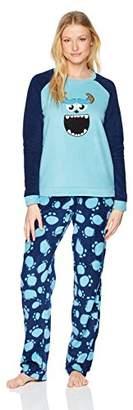 Disney Women's Sulley Fleece 2pc Set