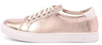 Lavish Rhonda Rose gold Sneakers Womens Shoes Casual Casual Sneakers