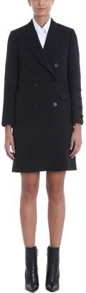 Neil Barrett Black Wool Blend Coat