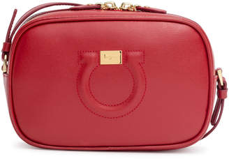 Salvatore Ferragamo Gancio City red cross body bag 972630215388c
