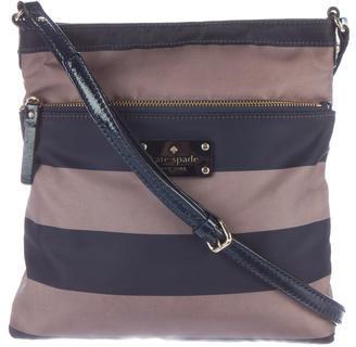 Kate SpadeKate Spade New York Striped Nylon Crossbody Bag