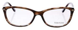 Tom Ford Tortoiseshell Acetate Eyeglasses