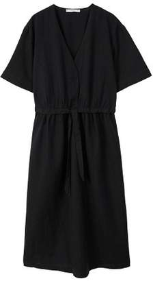 MANGO Belt linen dress