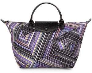 Longchamp Large Le Pliage Printed Tote Bag