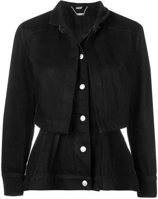 Alexander McQueen flared buttoned up jacket