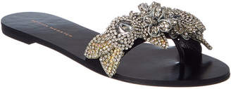 Sophia Webster Lilico Crystal Satin Slide